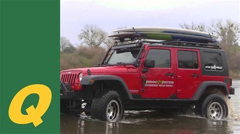 Jeep Wrangler Unlimited Roof Rack No Drilling Kargo Master Lo Pro Roof Rack System For Jeep Wrangler Jk