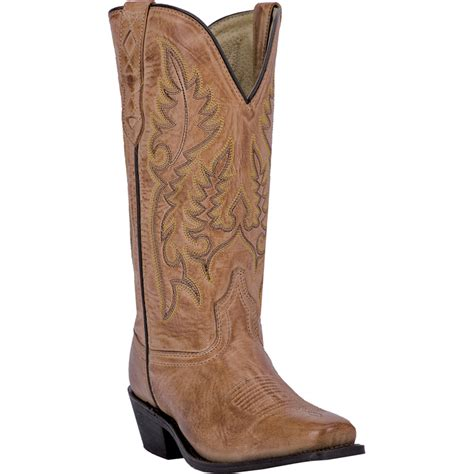 laredo womens antique leather chessie 11 quot square toe