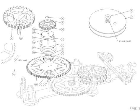 wood clock wood plans  blueprints  diy