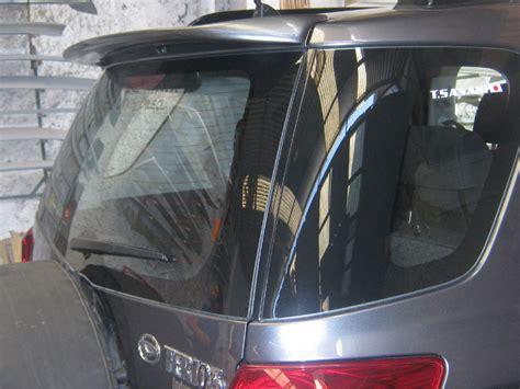 Spoiler Terios daihatsu rear spoiler terios 5d hatchback 2006 2014 ebay