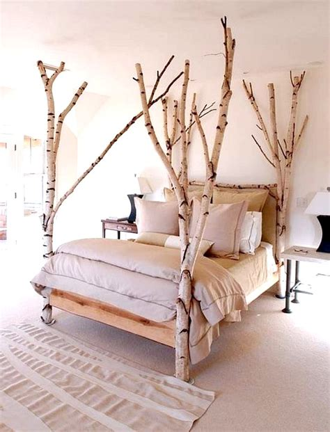 Decorating With Birch Sand And Sisal Birch Bed Frame