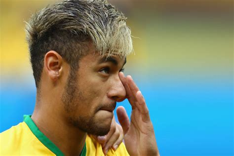 2014 World Cup Hairstyles by Neymar Hairstyle Back 2014 Www Pixshark Images