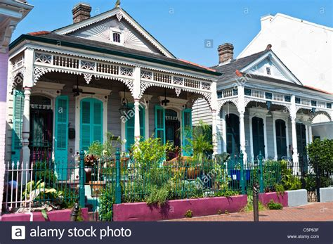 buy house new orleans buy house in new orleans typical shotgun house in the quarter of new orleans stock photo