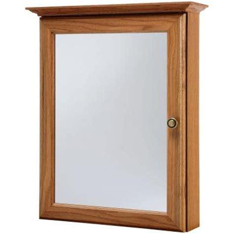 Oak Medicine Cabinets Surface Mount by American Classics 20 In X 25 In Surface Mount Medicine