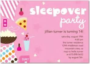 slumber birthday invitation ideas new ideas