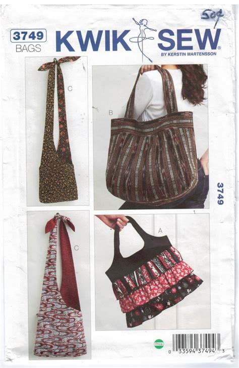 pattern review kwik sew 3601 kwik sew pattern 3749 collection of purses and bags