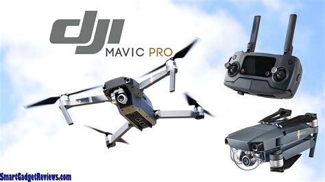 dji mavic pro quadcopter  camera drone unboxing review