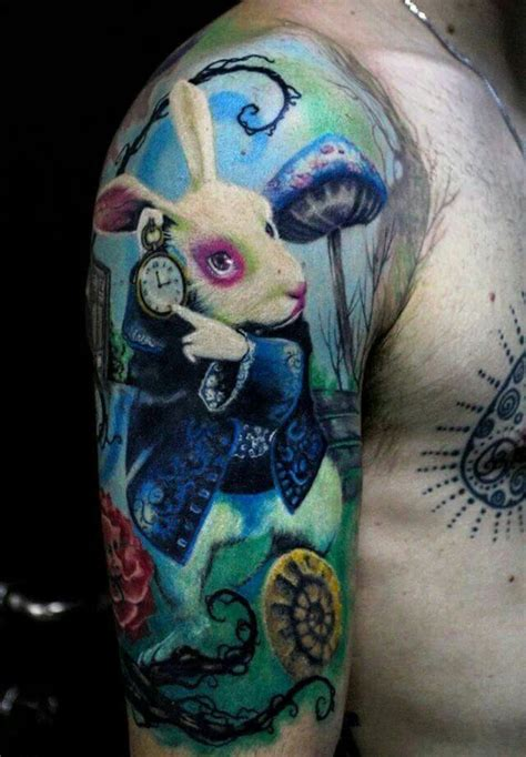white rabbit tattoo 30 rabbit tattoos tattoofanblog