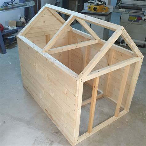 how to build a frame house dog house zeno woodwork