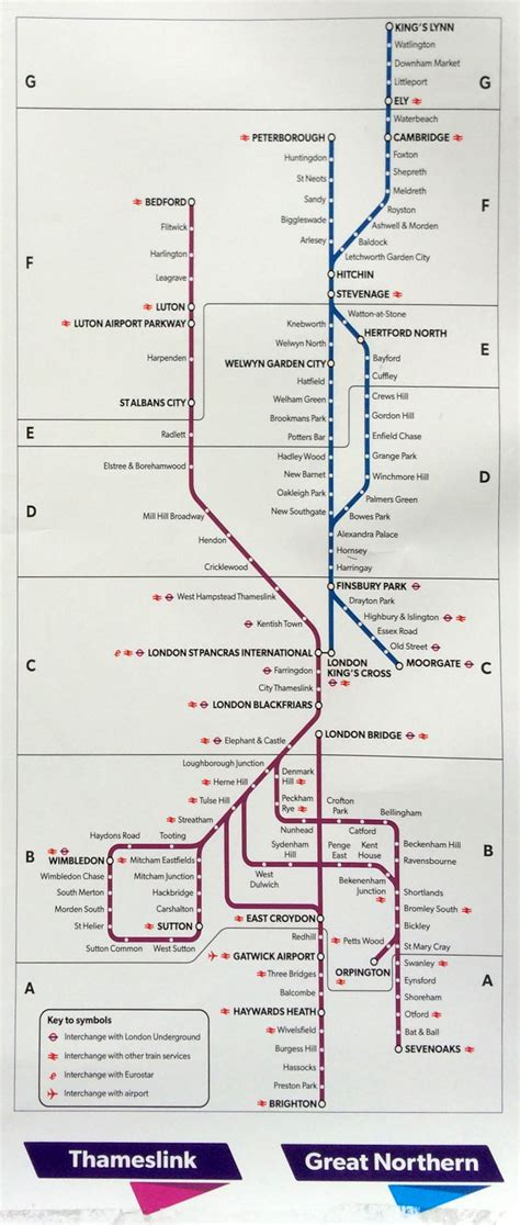 themes link train map thameslink