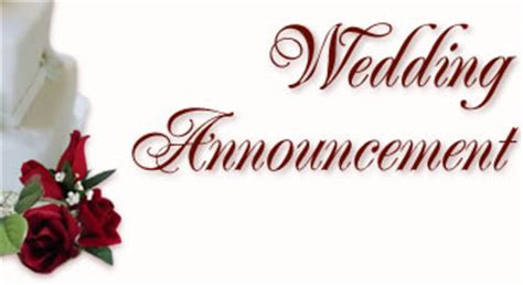 Upcoming Wedding Announcement by Santa Barbara News Press Wedding Announcement Form