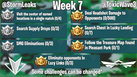 fortnite week 7 challenges epic announces release date for v5 30 update and