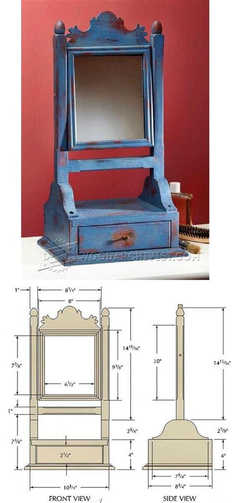 mirror plans woodworking