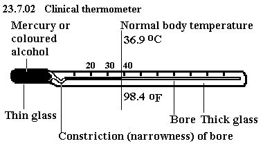 Diagram Of Clinical And Laboratory Thermometer neat large diagram of a clinical thermometer 6533091