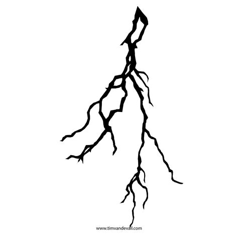 lightning silhouette clipart best