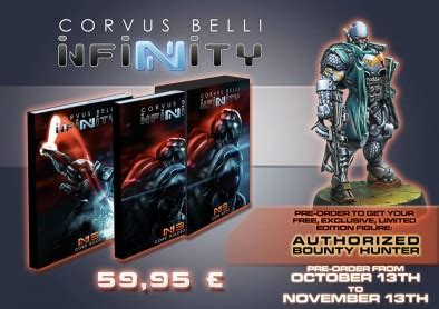 the hunters infinity infinity 3rd edition pre orders begin next week