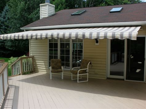 how to install a retractable awning sunsetter 174 custom awnings store with style