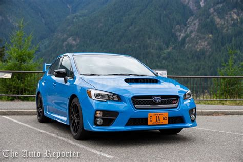 sti subaru 2016 2016 subaru wrx sti review the auto reporter