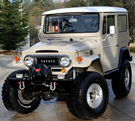 Jeep Land Cruiser Toyota Land Cruiser Fj40 Overland Land
