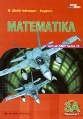 Buku Kewarganegaraan Smp Jl 3 matematika untuk smp kelas ix semester 1 jilid 3a m