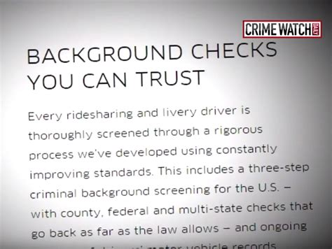 Does Uber Background Check Three Ex Cons Pass Uber S Background Check Los