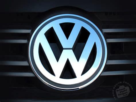 vw logo  stock photo image picture volkswagen logo brand shiny royalty  car stock
