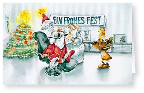 Weihnachtskarte Branchenkarte F 252 R Zahnarzt Praxis
