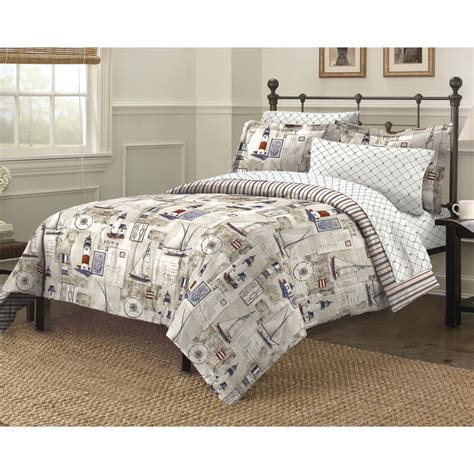 nautical comforter sets queen size comforter set nautical theme sailboats