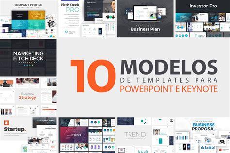 10 Modelos De Templates Slides Para Powerpoint E Keynote R 16 00 Em Mercado Livre Powerpoint Templates For Software Presentation