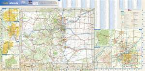 colorado denver south mission map colorado state wall map by globe turner