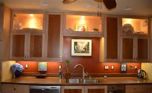 kitchen cabinets with lights recessed lighting for kitchen remodel total lighting blog