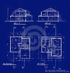 blue prints for a house house blueprints royalty free stock photography image