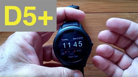 Smartwatch No 1 D5 no 1 d5 android 5 1 smartwatch unboxing and 1st look