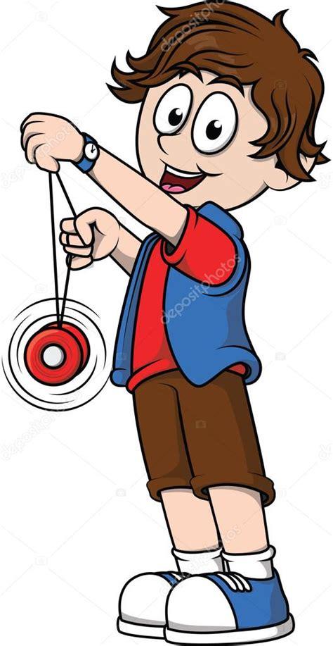 Dibujos De Niños Jugando Yoyo | jugando yoyo de ni 241 o archivo im 225 genes vectoriales