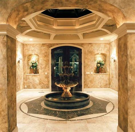 foyer niche domed foyer niches mediterranean style