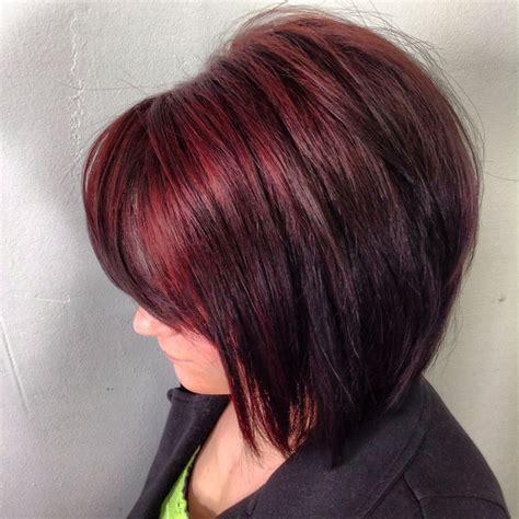 mahoganey hair with highlights dark mahogany with cherry highlights possible highlights