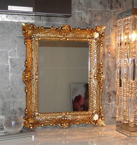 Wall Mirror Gold Antique Baroque Bathroom Floor Vanity 56x46 1 Ebay