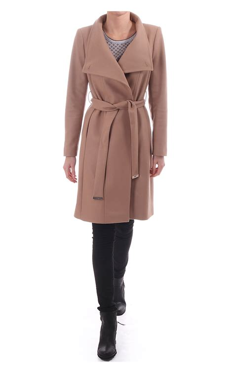 Ted Baker Coat For Winter by Ted Baker Lorili Button Detail Wrap Coat Taupe