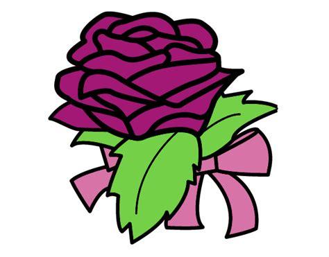 botanica fiori disegno rosa botanica colorato da utente non registrato