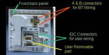 uk telephone extension wiring techwatch tech help forums