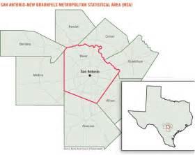 bexar county san antonio map