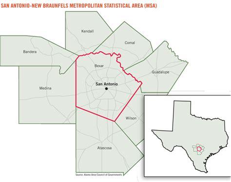 san antonio texas county map bexar county san antonio map