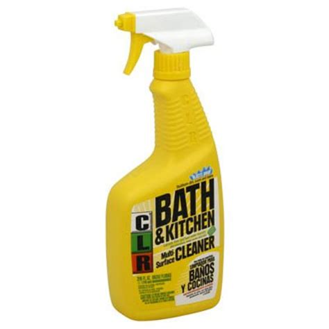clr bathroom kitchen cleaner clr bath kitchen cleaner does it all