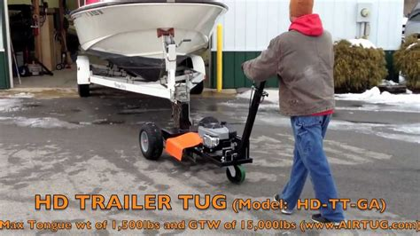 weighing boat and trailer airtug trailer tug hd ga moving dual axle boat trailer