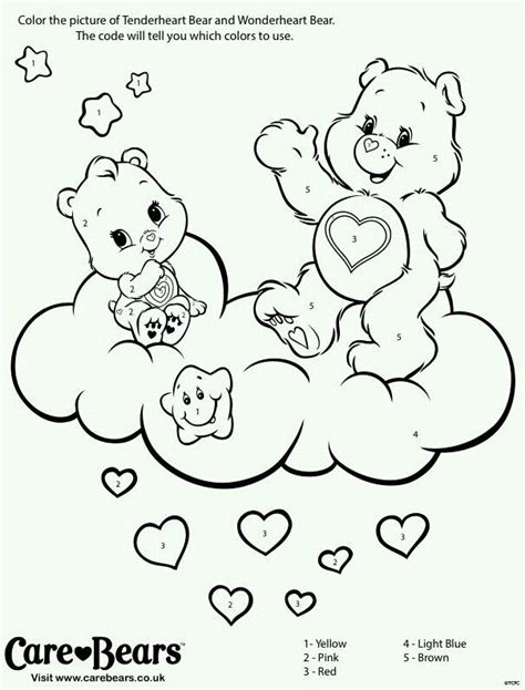 wonderheart bear coloring pages 18 best images about care bear wonderheart bear 4 on