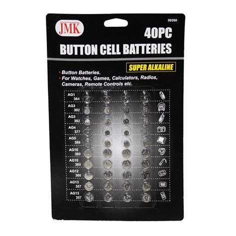 Battery Prince Pc 9000 Pc 398 Original 100 button cell batteries 40 pc ag1 ag3 ag4 ag5 ag10 ag12 1 5