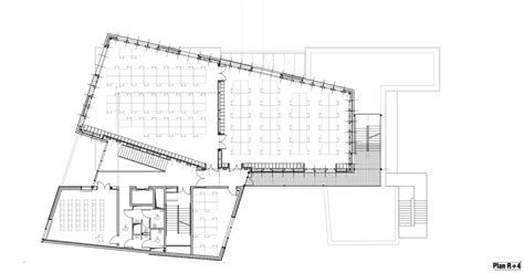 plan architecture gallery of strasbourg school of architecture marc mimram