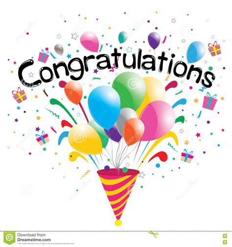 congratulations party  white background congratulations