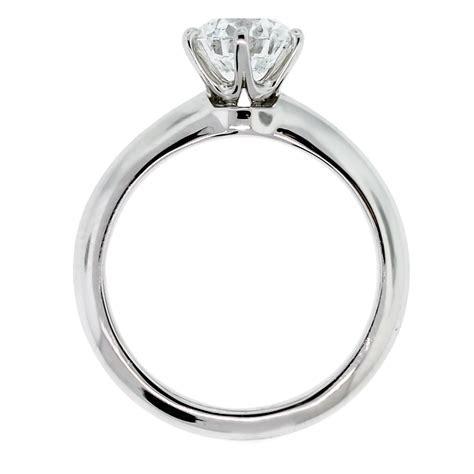 Tiffany and Co. Round Brilliant Diamond Platinum