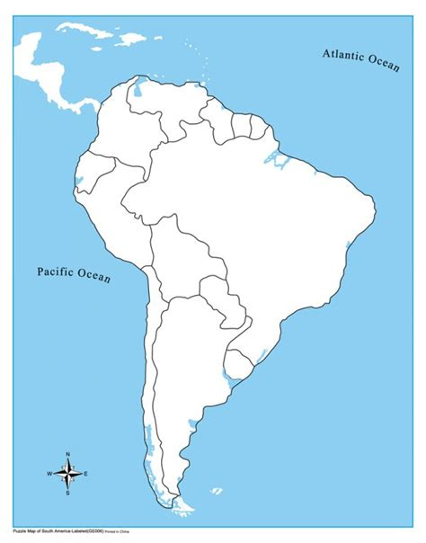 and south america map america map unlabeled south america map kid ease